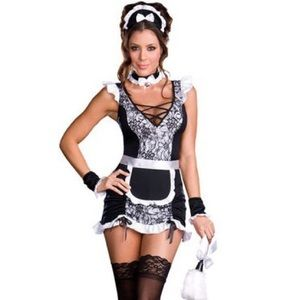Other - Parisian Provocateur Sexy French Maid Costume